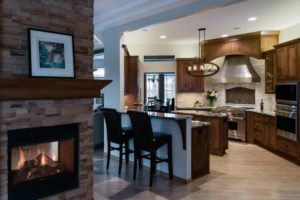 kitchen-Crazy-Horse-Granite-Remodel-Fireplace-After