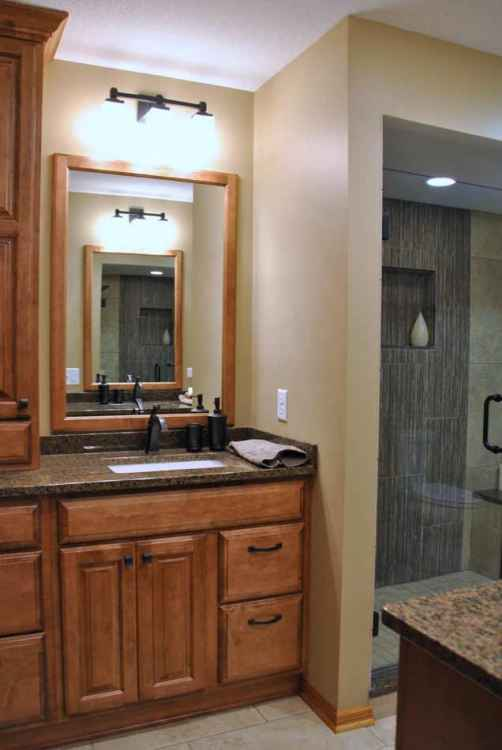 Th Ave BathroomBloomington Ohana Construction Home Remodeling - Bathroom remodel bloomington mn
